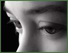 gyerek szeme közelről