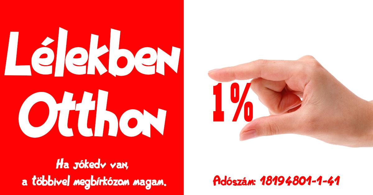 Köszönjük idén is 1%-át!